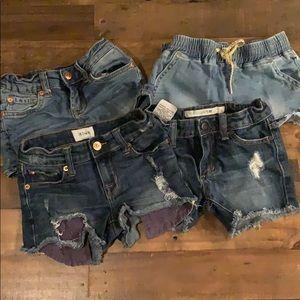 Girls shorts bundle 7 For All Mankind, Hudson, Joe